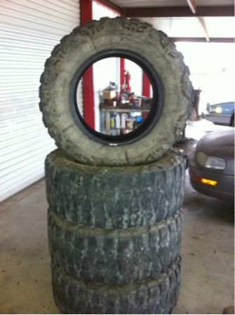 37-12.50-20 Nitto Mud Grapplers - $600 (Cross Plains)