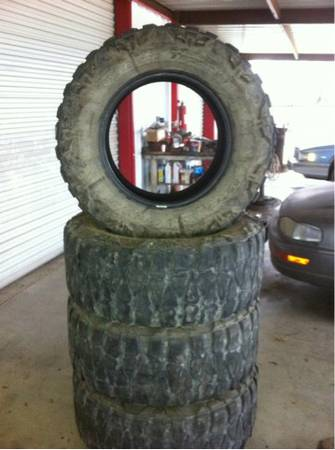 37-12.50-20 Nitto Mud Grapplers - $500 (Cross Plains)