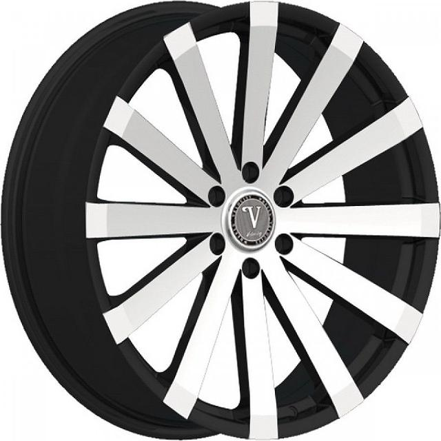 499  New 28 Velocity VW12-M 6x135 Black Machine Wheels Rims