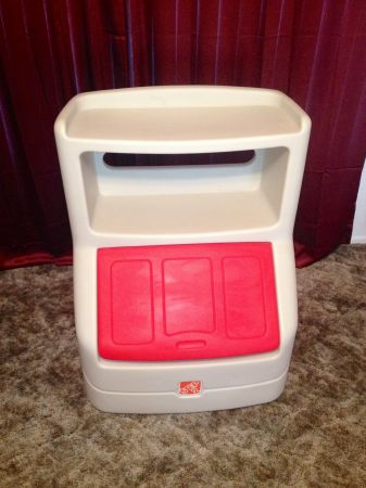 Step 2 Toy Box with Bookshelf - $50 (Abilene)