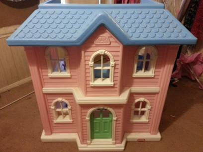 Barbie Little Tikes Doll House - $150 (Abilene)