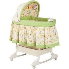 Disney Happy Day Pooh Rocking Bassinet - $90 (Dyess AFB)