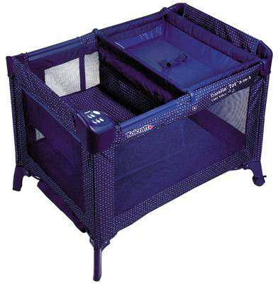 kolcraft travelin tot 4in1 play yard - $80 (abilene)