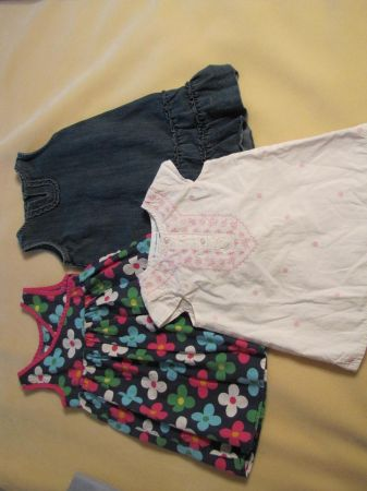 Cute toddler girl spring clothes and shoes. - $35 (Tuscola)