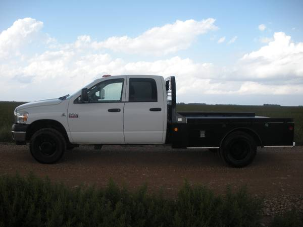 09 Dodge Dually Flatbed - $23500 (Abilene)