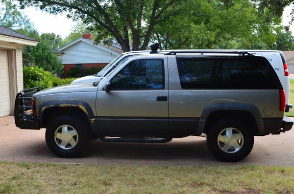 1999 2 door Chevy Tahoe 4X4 - $8500 (Abilene)
