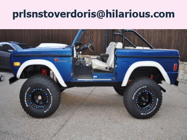 $18,000, Ford Bronco