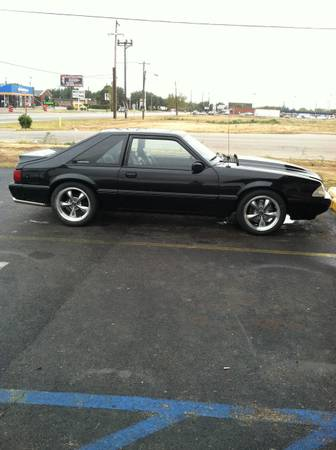 93 Mustang LX 5.0 5 Speed - $7500 (Abilene)