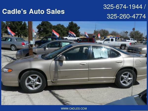 2003 Pontiac Grand Prix 4dr Sdn GT with Alloy Wheels - $3995 (Cadles 3925 South 1st Street)