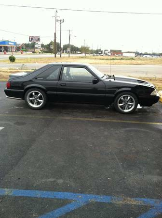Beautiful 93 Mustang 5.0L 5Sp - $7500 (Abilene)