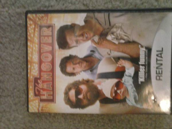 The Hangover dvd -   x0024 3  Abilene
