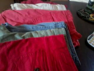 6 Pair Faded Glory Shorts - $20 (Abilene)