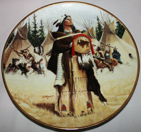 Native American Collector Plate - x002412 (Abilene)
