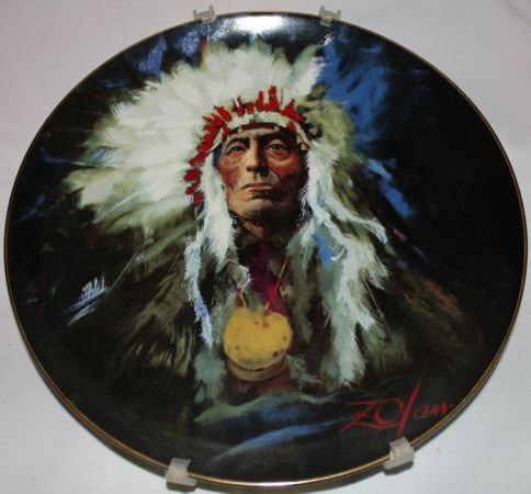 Native American Collector Plate - $20 (Abilene)