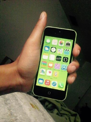 130  Lime green  iPhone 5c