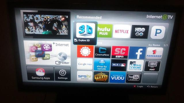 375  50in Samsung LED Smart tv