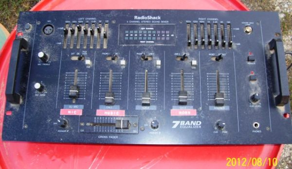 7 Band Equalizer for sale - WORKS - $100 (Stephenville, TX)