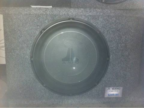 JL AUDIO CP113G-W1v2 - $300 (South Abilene)