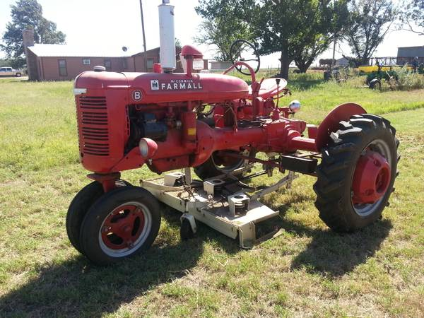 Model B Farmall Tractor - $4500 (Rochester)