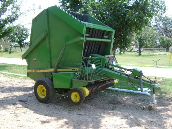 John Deere Round Baler for Sale Model 510 - $3250 (Levelland, Texas)