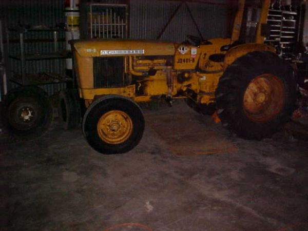 John Deere 401B 60 hp. tractor-Loader extra - x00245650 (Sweetwater)