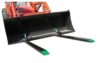 320   NEW  CLAMP ON PALLET FORKS - turn your tractor into a fork lift  NEW