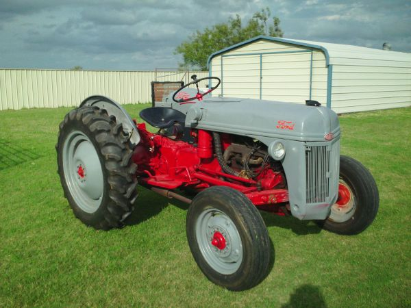 1949 8n Ford Tractor For Sale