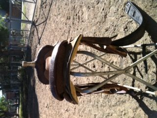 barrel saddle Martha Josey - $450 (Abilene)