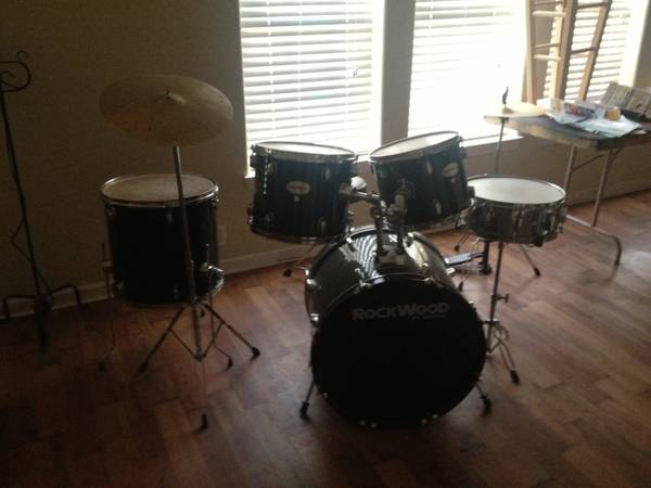 Rockwood Drum Set - $50 (Abilene - North Side)