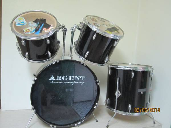 Argent Drum Set of 4 Drums - x0024100 (Abilene)