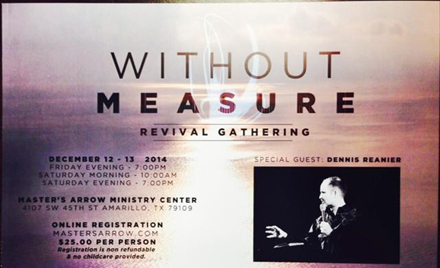 Without Measure Revival Gathering