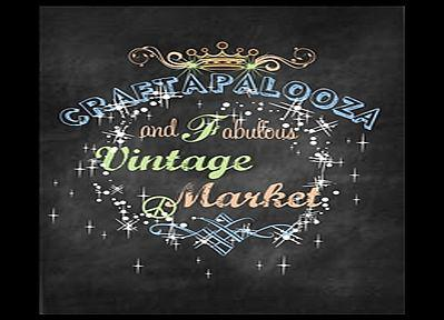Craftapalooza and Vintage MarketDec 6th