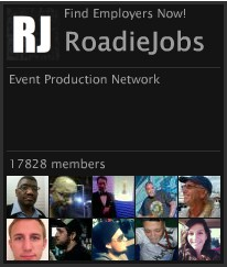What Is RoadieJobs com