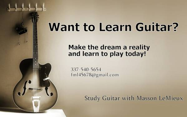 Classical  amp  Jazz guitar lessons  Baton rouge