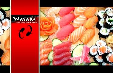 Wasaki Asian Fusion Sushi  Habachi - 7951 One Calais Ave  Baton Rouge  LA  70809 - Ph 225-766-2088