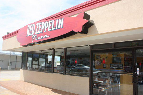 Red Zeppelin Pizza - 4395 Perkins Road  Baton Rouge  LA 70808  Ph 225 302-7153