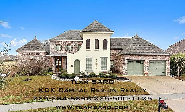 $499,000, 4br, 2341 Royal Troon Ct Home for Sale in Zachary, LA