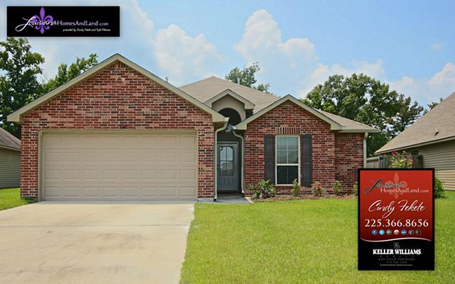 Just Listed 5 year old 3 Bedroom House in Prairieville Louisiana