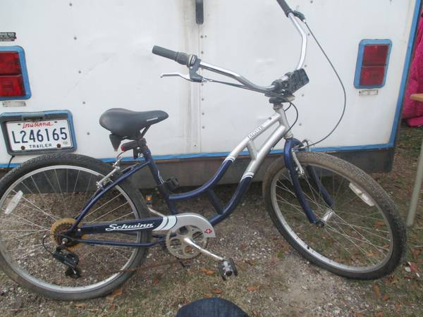 Womens Schwinn Jaguar 7 Speed Beach Cruiser  - x002460 (denham springs)