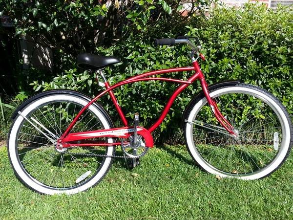 Huffy Mens Good Vibrations 26 Cruiser Bike  - $100 (Bluebonnet - Highland)