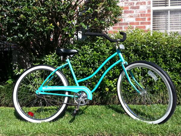 Huffy Womens Good Vibrations 26 Cruiser Bike - $100 (Bluebonnet - Highland)