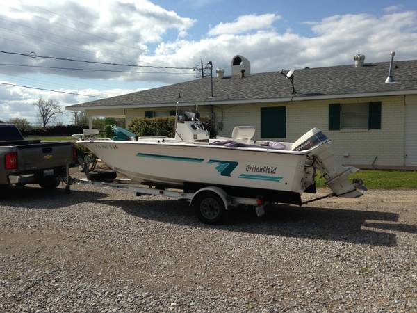 Critchfield 186 Bay Boat - $7500 (Morganza, LA)
