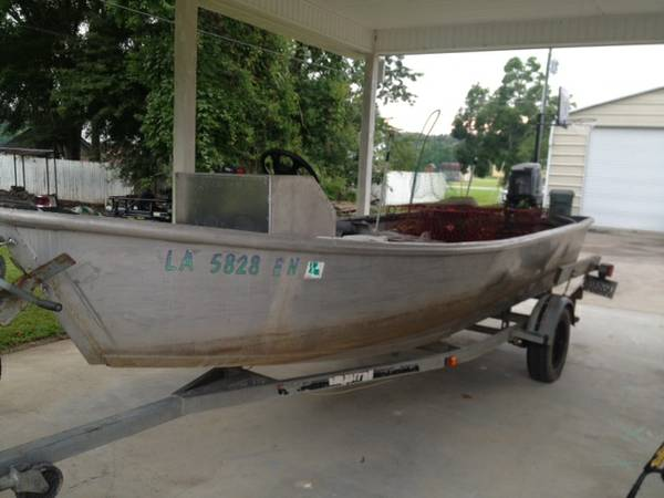 18 Crawfish Skiff For Sale - $5800 (St. Amant, LA)