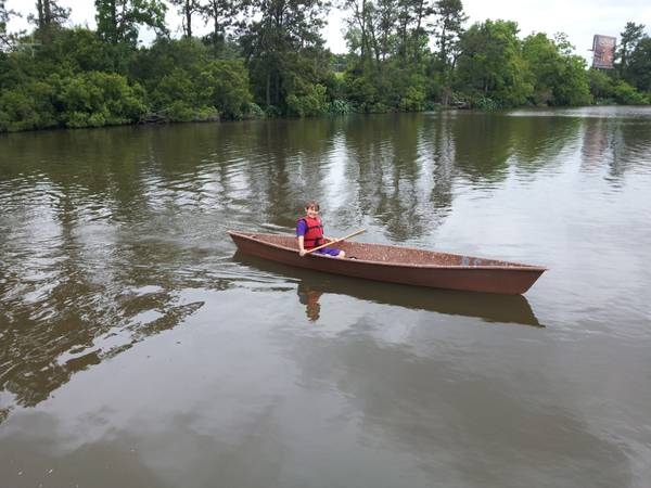 Trade a 2-man Fiberglass Pirogue for a 1-man pirogue - $1 (Hammond)