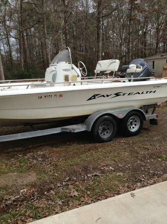 20  Bay Stealth Boat 2004 -   x0024 15000  Denham Springs
