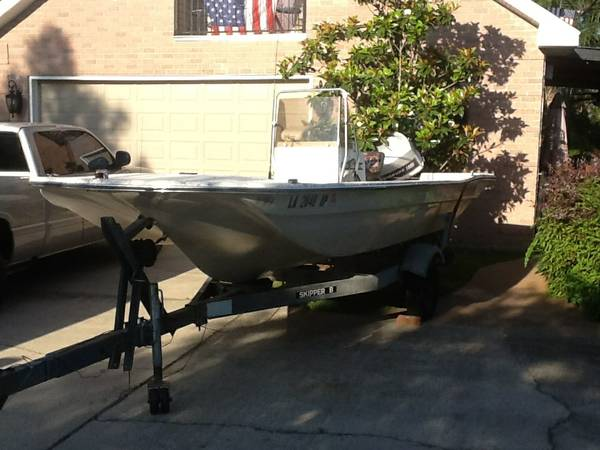 Selling critchfield tri hull fishing boat with 1982 115hp evinrude - $3000 (Slidell)