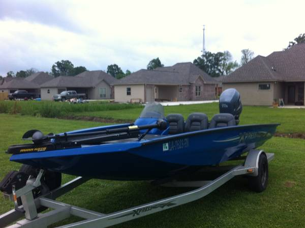 2006 Xpress X17 with 2006 Yamaha F115 Four Stroke and Minn Kota Edge 7 - $12500 (Baton Rouge)