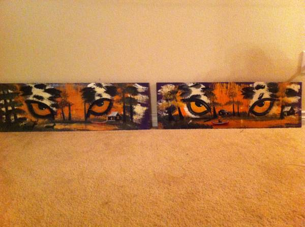 Lsu wood art  denham springs