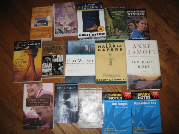 Books - Novels for School - $20 (Baton Rouge)
