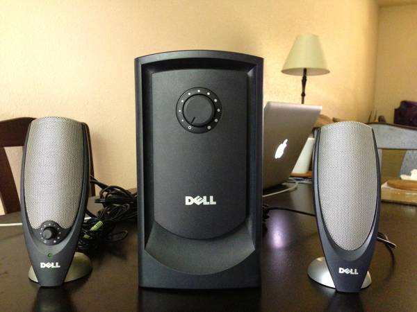 Dell 2.1 Channel Zylux A425 Multimedia Computer Speaker system wSatel - $29 (LSU)